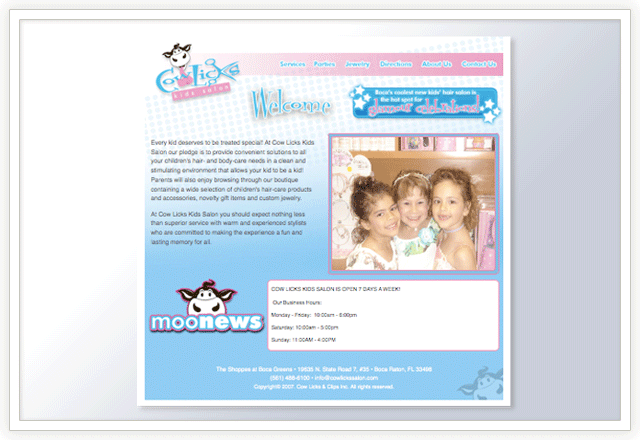 cowlicks-website